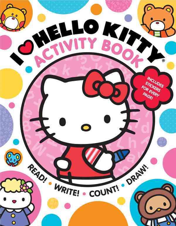 I Heart Hello Kitty Activity Book By Sanrio (COR)